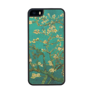 Vincent Van Gogh Blossoming Almond Tree Carved® Maple iPhone 5 Slim Case