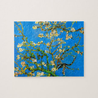 Vincent Van Gogh - Blossoming Almond Tree Fine Art Jigsaw Puzzle