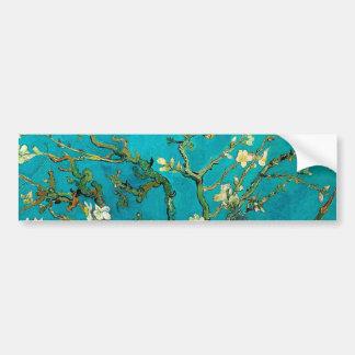 Vincent Van Gogh Blossoming Almond Tree Floral Art Bumper Sticker