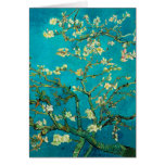 Vincent Van Gogh Blossoming Almond Tree Floral Art Note Card