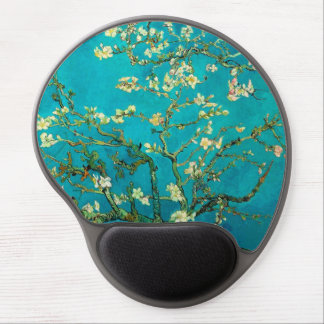 Vincent Van Gogh Blossoming Almond Tree Floral Art Gel Mouse Mat