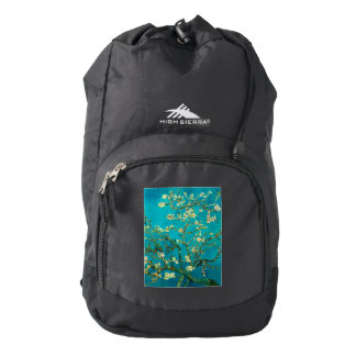 Vincent Van Gogh Blossoming Almond Tree Floral Art Backpack