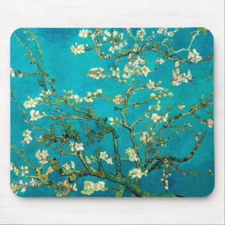 Vincent Van Gogh Blossoming Almond Tree Floral Art Mouse Mat