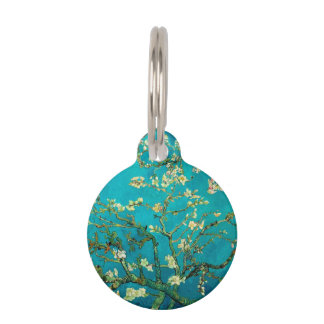 Vincent Van Gogh Blossoming Almond Tree Floral Art Pet Tag
