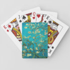 Vincent Van Gogh Blossoming Almond Tree Floral Art Playing Cards