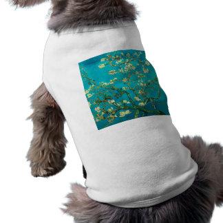 Vincent Van Gogh Blossoming Almond Tree Floral Art Sleeveless Dog Shirt