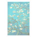 Vincent Van Gogh Blossoming Almond Tree Floral Art Stationery Paper