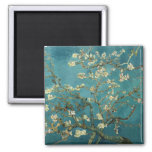 Vincent Van Gogh -  Blossoming Almond Tree Magnets