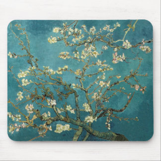 Vincent Van Gogh -  Blossoming Almond Tree Mouse Pad