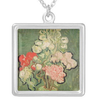 Vincent van Gogh | Bouquet of flowers, 1890 Silver Plated Necklace