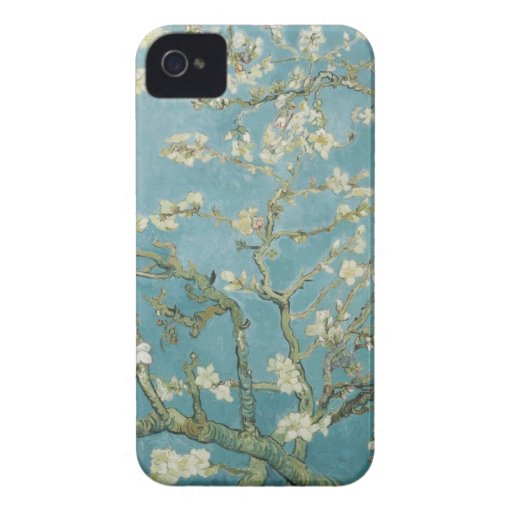Vincent Van Gogh Branches of Almond Tree Case-Mate iPhone 4 Cases