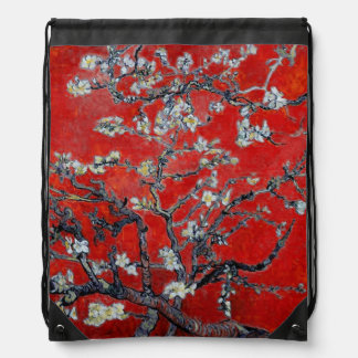 Vincent van Gogh | Branches with Almond Blossom Drawstring Bag