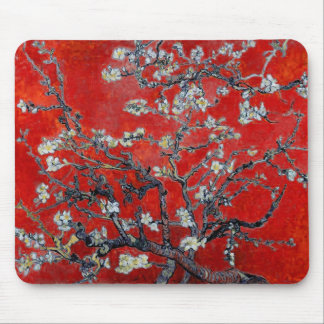 Vincent van Gogh Branches with Almond Blossom Mouse Mat