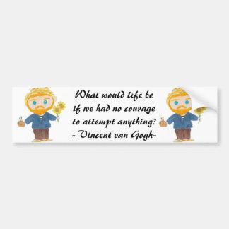 Vincent van Gogh Bumper Sticker