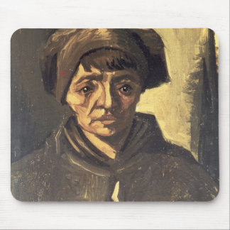 Vincent van Gogh | Bust of a Peasant, 1884 Mouse Mat