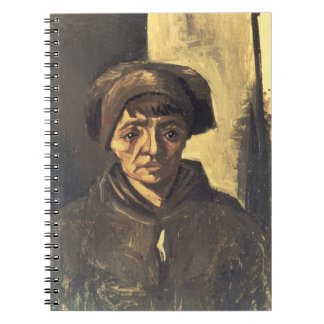 Vincent van Gogh | Bust of a Peasant, 1884 Notebooks