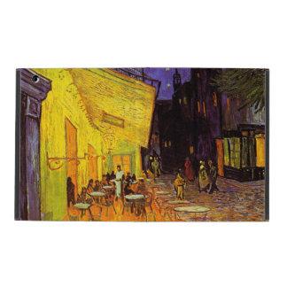 Vincent Van Gogh Cafe Terrace At Night Fine Art iPad Folio Case