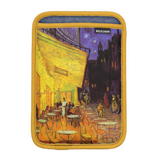 Vincent Van Gogh Cafe Terrace At Night Fine Art iPad Mini Sleeve