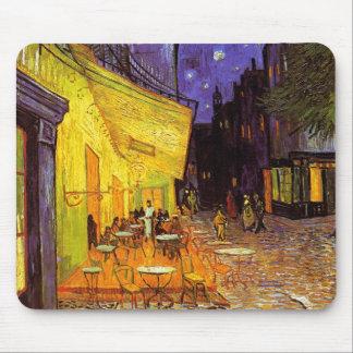 Vincent Van Gogh Cafe Terrace At Night Fine Art Mouse Mat