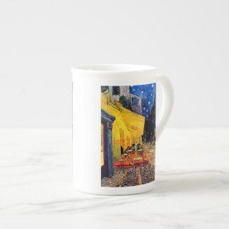 Vincent Van Gogh - Cafe Terrace At Night Fine Art Tea Cup