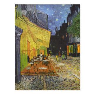 Vincent Van Gogh - Cafe Terrace at Night Postcard