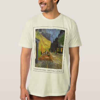 Vincent Van Gogh - Cafe Terrace at Night T-Shirt