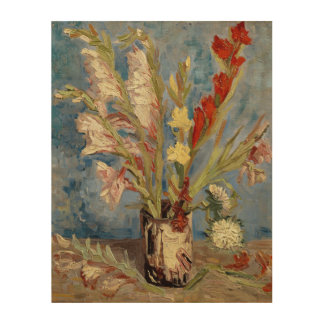 Vincent van Gogh - Chinese Asters Wood Print