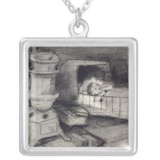 Vincent van Gogh   Cradle Silver Plated Necklace