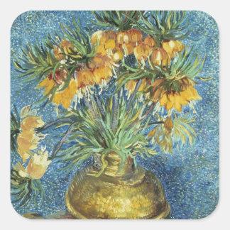 Vincent van Gogh | Crown Imperial Fritillaries Square Sticker
