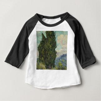 Vincent Van Gogh - Cypresses Painting Baby T-Shirt