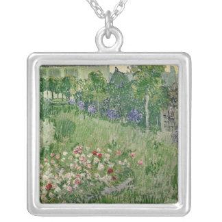 Vincent van Gogh   Daubigny's garden, 1890 Silver Plated Necklace
