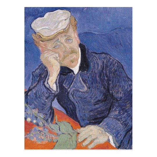 Vincent van Gogh | Dr. Paul Gachet, 1890 Postcard