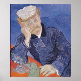 Vincent van Gogh | Dr. Paul Gachet, 1890 Poster