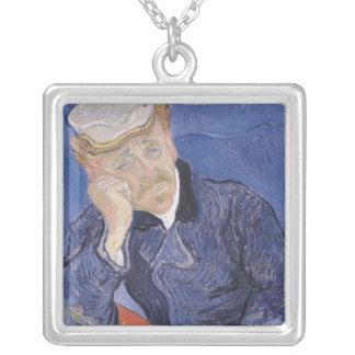Vincent van Gogh | Dr. Paul Gachet, 1890 Silver Plated Necklace