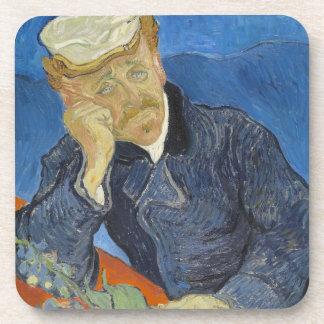 Vincent van Gogh - Dr Paul Gachet Beverage Coaster