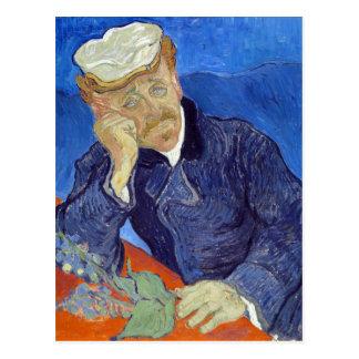 Vincent van Gogh Dr. Paul Gachet Postcard