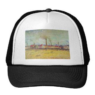 Vincent Van Gogh - Factories at Asnieres Cap