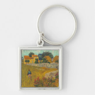 Vincent van Gogh | Farmhouse in Provence, 1888 Key Ring