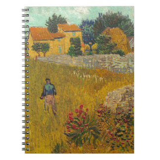 Vincent van Gogh | Farmhouse in Provence, 1888 Notebook