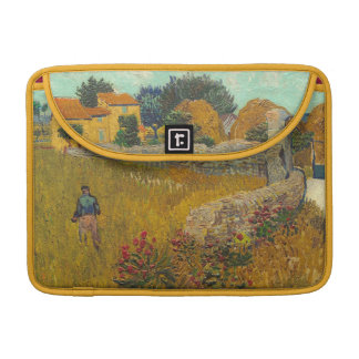 Vincent van Gogh   Farmhouse in Provence, 1888 Sleeve For MacBook Pro