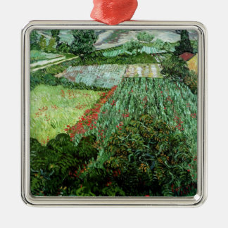 Vincent van Gogh | Field with Poppies, 1889 Christmas Ornament