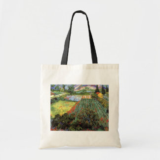 Vincent Van Gogh - Field With Poppies Fine Art Tote Bag