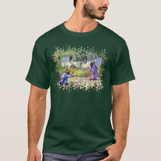 Vincent Van Gogh - First Steps - Father's Day Art T-Shirt