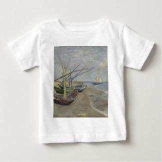 Vincent Van Gogh - Fishing Boats on Saintes Maries Baby T-Shirt