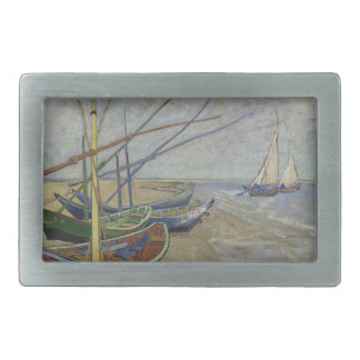 Vincent Van Gogh - Fishing Boats on Saintes Maries Belt Buckles