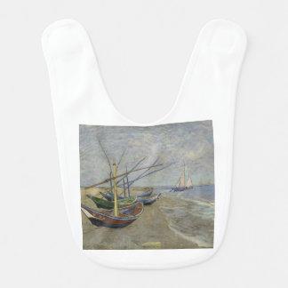 Vincent Van Gogh - Fishing Boats on Saintes Maries Bib