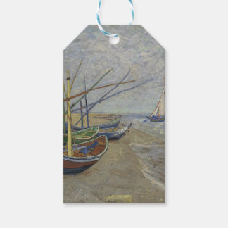 Vincent Van Gogh - Fishing Boats on Saintes Maries Gift Tags