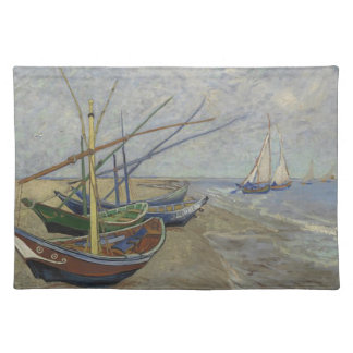 Vincent Van Gogh - Fishing Boats on Saintes Maries Placemat