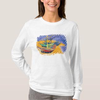 Vincent van Gogh | Fishing Boats on the Beach T-Shirt