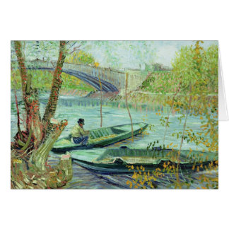 Vincent van Gogh | Fishing in the Spring Card
